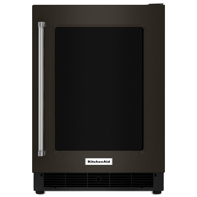 Réfrigérateur KitchenAid(MD), sous-comptoir, 5,1 pi³, inox noir