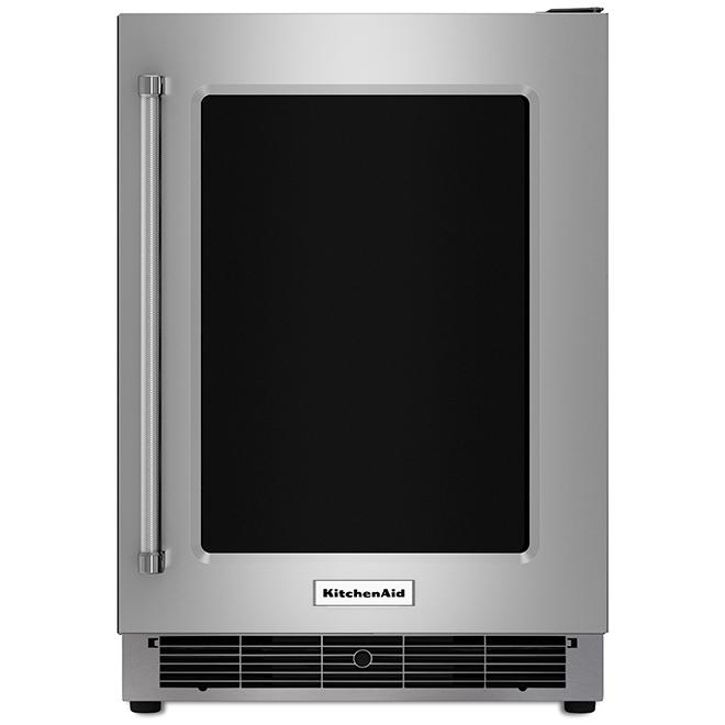 Réfrigérateur KitchenAid(MD), sous-comptoir, 5,1 pi³, inox