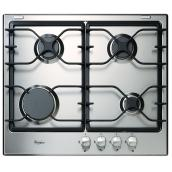 "Whirlpool(TM) 4-Element Gas Cooktop - 24"" - Stainless Steel"
