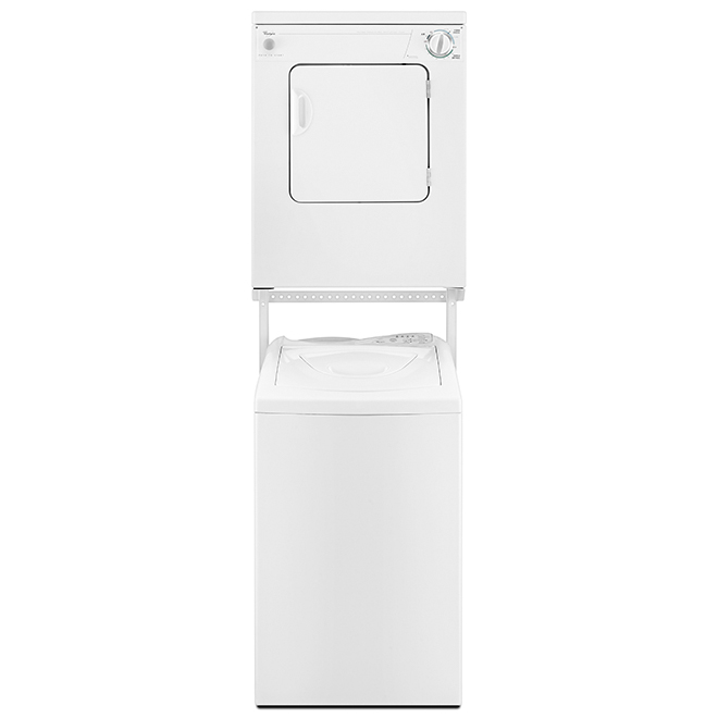 """Whirlpool Portable Electric Dryer - 24"""" - 3.4 cu. ft. - White"""
