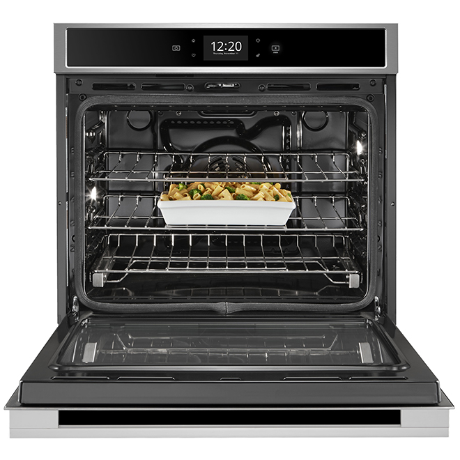 """Whirlpool(TM) Smart Simple Wall Oven - 30"""" - 5 cu. ft. - SS"""