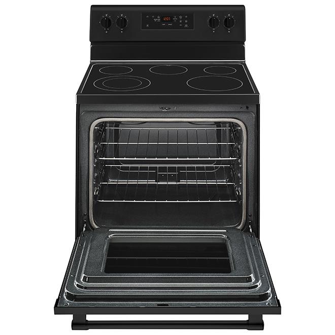 """Cuisinière électrique autoportante Maytag, 30"""", 5,3 pi³, noir"""