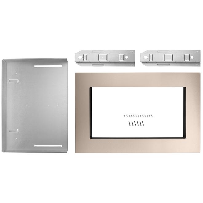 "Whirlpool(TM) Microwave Oven Trim Kit - 30"" - Bronze"