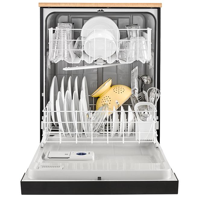 Whirlpool Tm Portable Heavy Duty Dishwasher 24 Black Wdp370pahb Rona