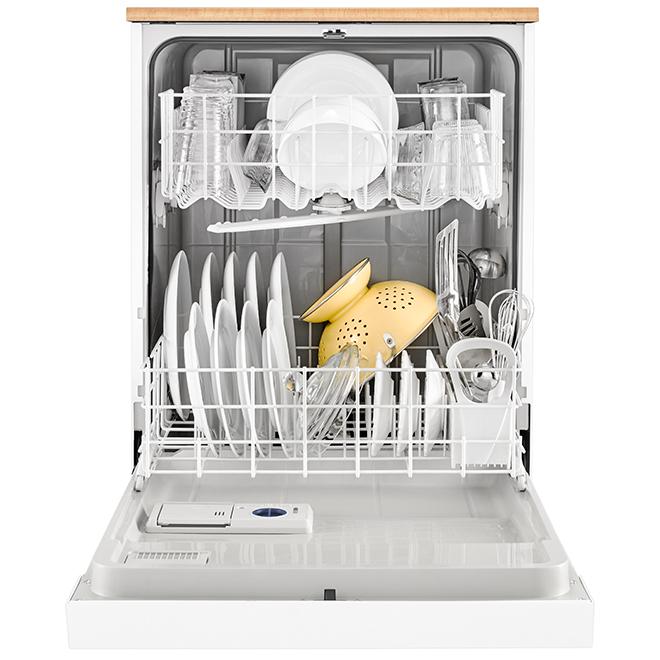"Whirlpool(TM) Portable Heavy-Duty Dishwasher - 24"" - White"