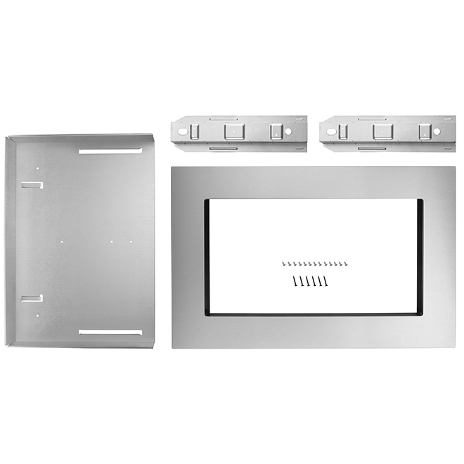 "Whirlpool(TM) Microwave Oven Trim Kit - 30"" - Stainless Steel"