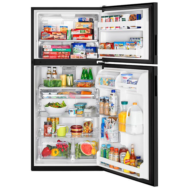 "Maytag(R) Top-Freezer Refrigerator - 33"" - 21 cu. ft. - Black"