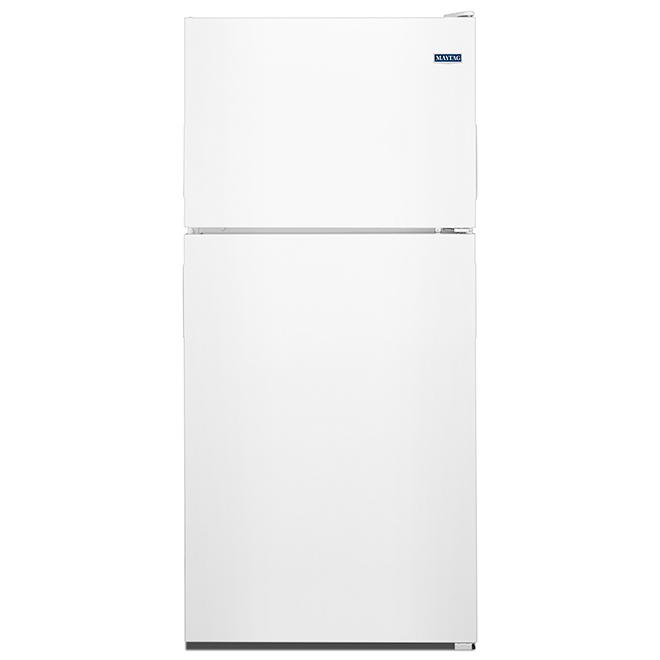 "Maytag(R) Top-Freezer Refrigerator - 33"" - 21 cu. ft. - White"