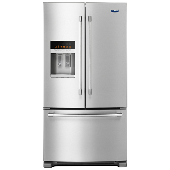 "Maytag(R) French-Door Refrigerator - 36"" - 25 cu. ft. - SS"