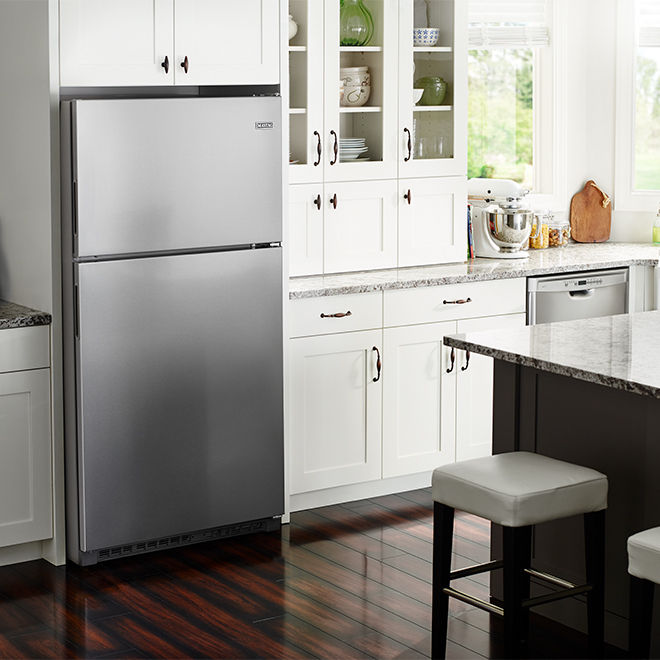Maytag(R) Top-Freezer Refrigerator - 21 cu. ft. - Monochrome SS