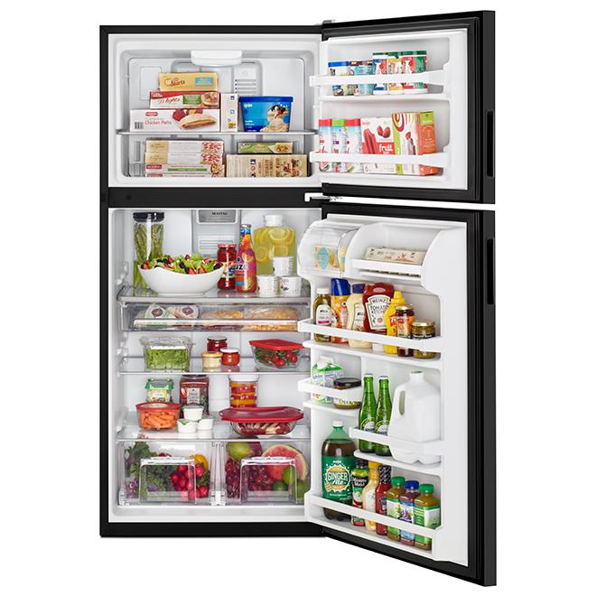 "Top-Freezer Refrigerator - 30"" - 18 cu. ft. - Black"