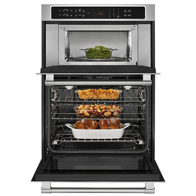 """Maytag Double Wall Oven - 30"""" - 6.4 cu. ft. - Stainless Steel"""