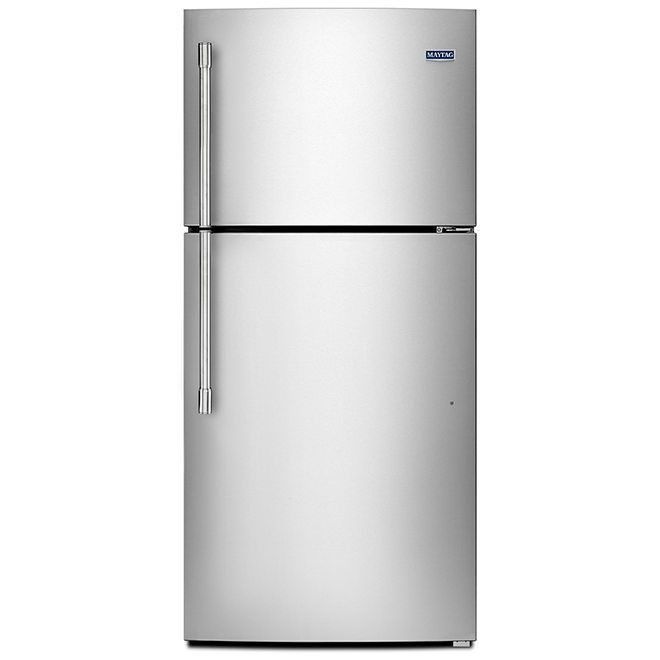 "Maytag(R) Top-Freezer Refrigerator - 19 cu. ft. - 30"" - SS"