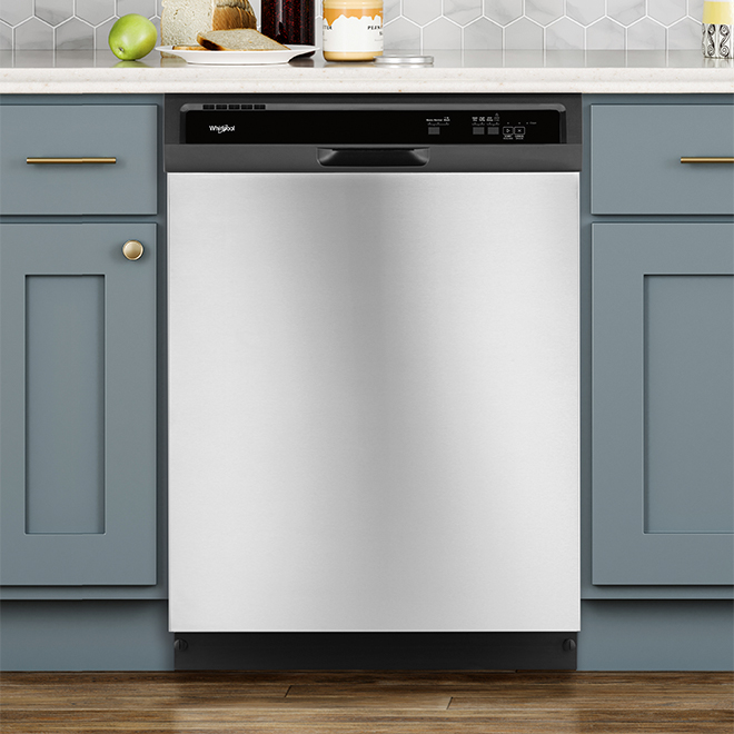 "Heavy-Duty Dishwasher - 24"" - Stainless Steel"