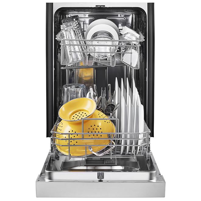 Whirlpool(TM) Compact Built-In Dishwasher - 18'' - SS