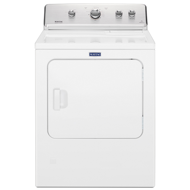 """Maytag(R) Gas Dryer with IntelliDry - 29"""" - 7.0 cu. ft. - White"""