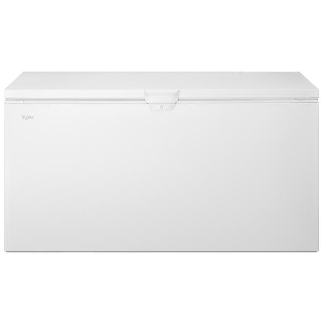 "Whirlpool(TM) Chest Freezer - 66 1/4"" - 22.0 cu. ft. - White"