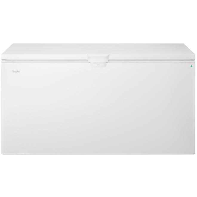 Whirlpool(TM) Chest Freezer - 22 cu. ft. - White