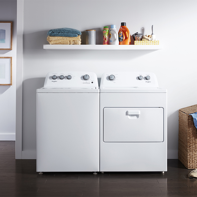 Whirlpool(TM) Gas Dryer with AutoDry(TM) - 7.0 cu. ft. - White