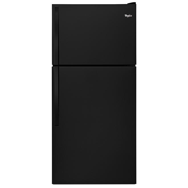 "Top-Freezer Refrigerator - 30"" - 18.25 cu. ft. - Black"