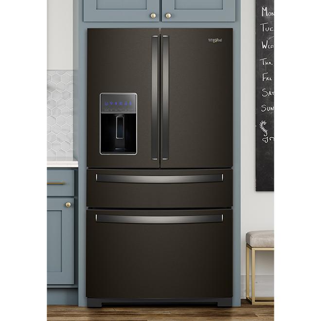 4-Door Refrigerator - 26 cu. ft. - Black Stainless Steel