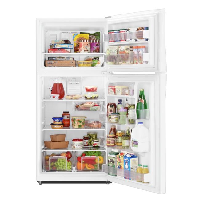 "Top-Freezer Refrigerator - 30"" - 19.2 cu. ft. - White"