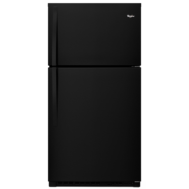 "Top-Freezer Refrigerator - 33"" - 21.3 cu. ft. - Black"