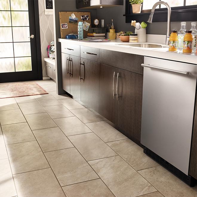 Réfrigérateur sous le comptoir, 5,1 pi³, acier inoxydable