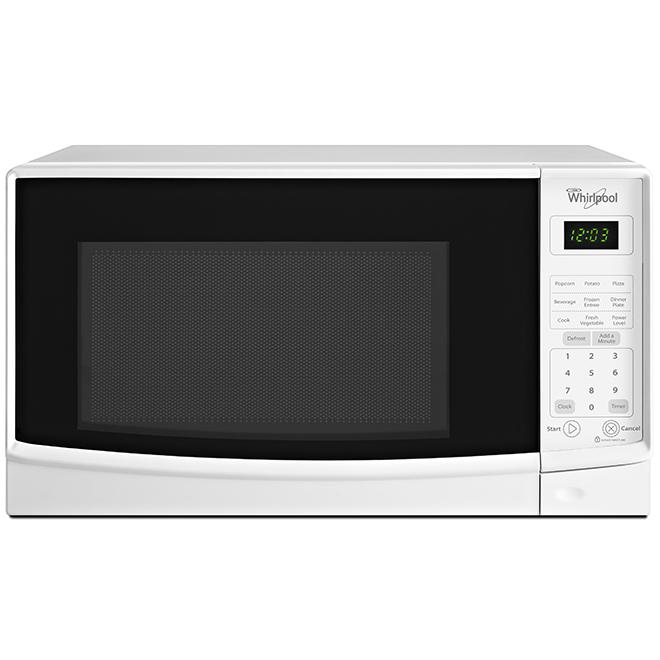 Four à micro-ondes de comptoir, 0,7 pi³, 700 W, blanc