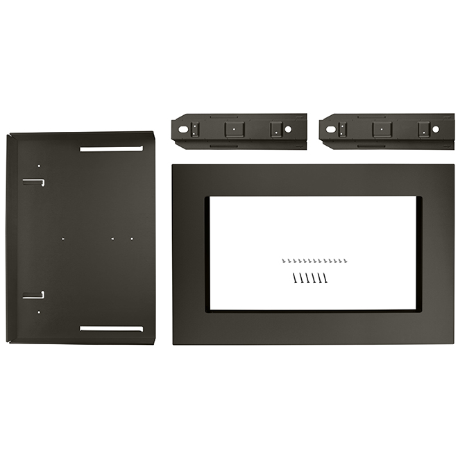 Kitchenaid Microwave Oven Trim Kit 30 Black Stainless