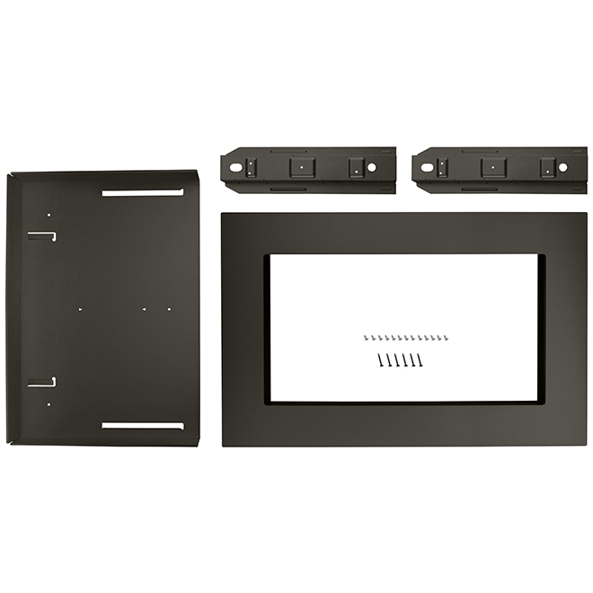 Microwave Oven Trim Kit - 27'' - Black Stainless Steel