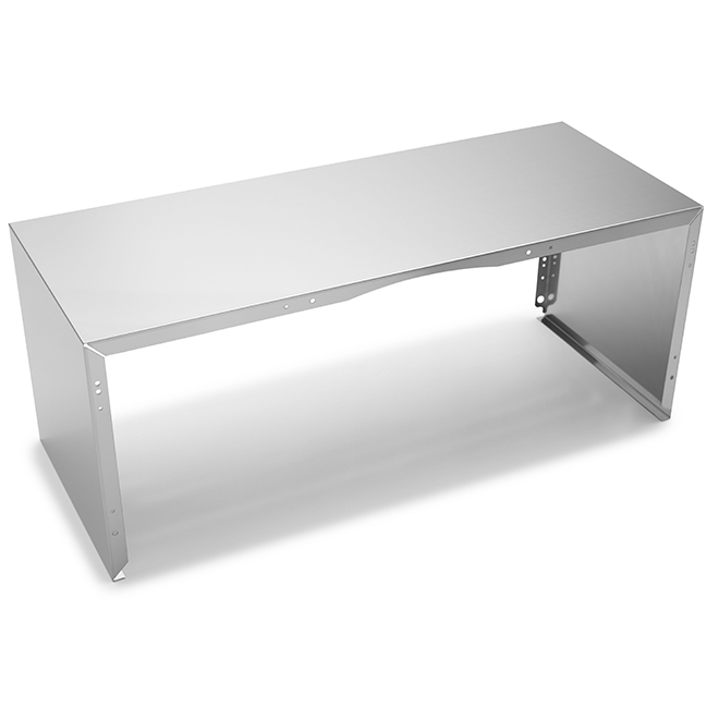 Duct Cover for Kitchen Hood - 30'' - Stainless Steel
