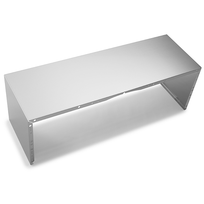 Duct Cover for Kitchen Hood - 36'' - Stainless Steel