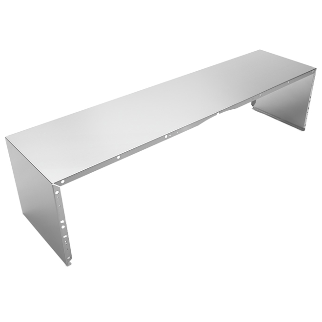 Duct Cover for Kitchen Hood - 48'' - Stainless Steel