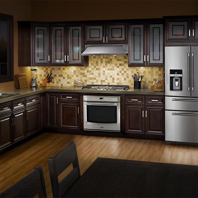 Hotte de cuisinière sous-armoire 36'' Whirlpool, 400 pcm, inox