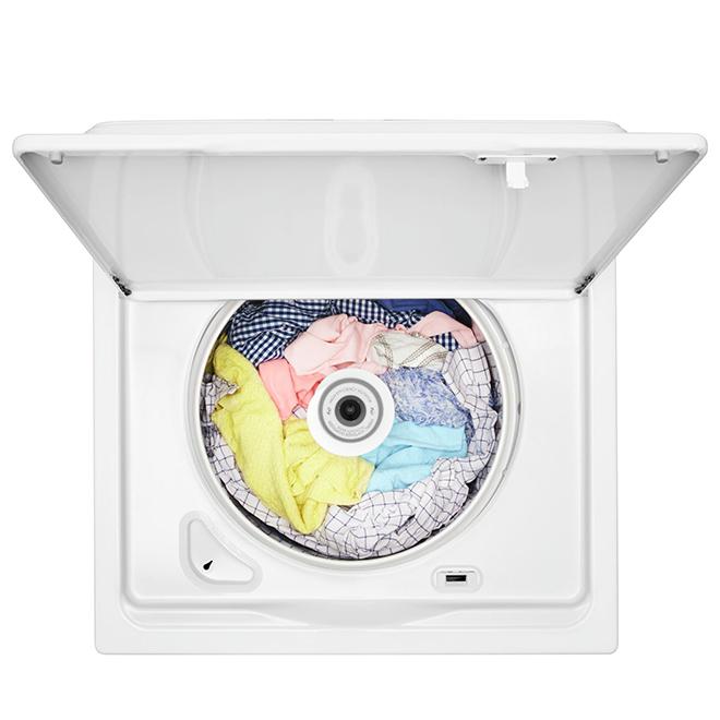 """Laveuse à chargement vertical Amana(MD), 27,5"""", 4,4 pi³, blanc"""