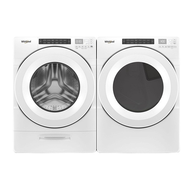 Whirlpool Gas Dryer with Wrinkle Shield - 7.4 cu. ft. - White