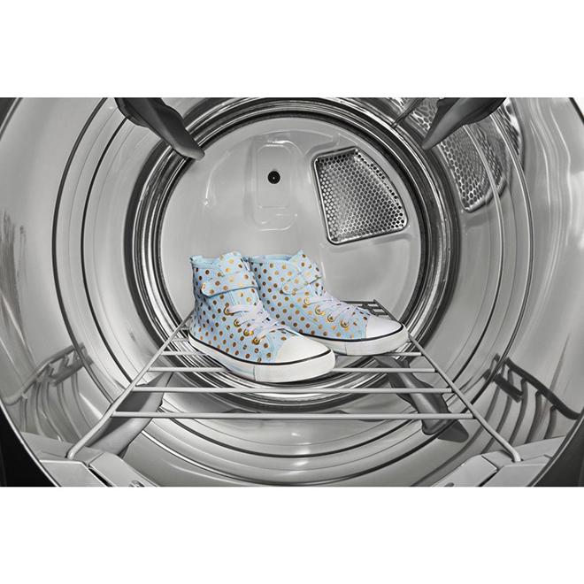 Sécheuse intelligente au gaz Whirlpool, 7,4 pi³, ombre chromée
