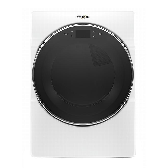"Whirlpool(TM) Smart Gas Dryer - 27"" - 7.4 cu. ft. - White"