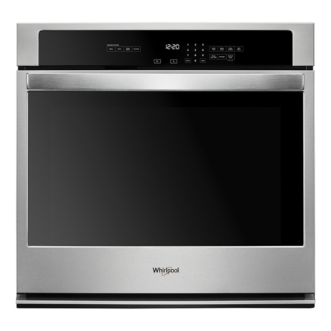 "Whirlpool(TM) Single Wall Oven - 27"" - 4.3 cu. ft. - S/S"