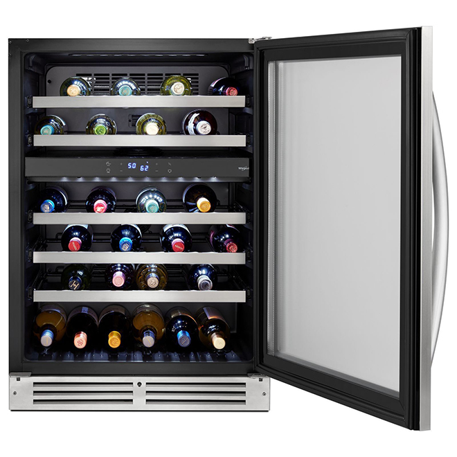 Undercounter Wine Centre - 46 Bottles - Stainless Steel