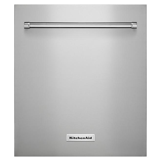 """Panneau de recouvrement pour lave-vaisselle, 18"""", inox"""
