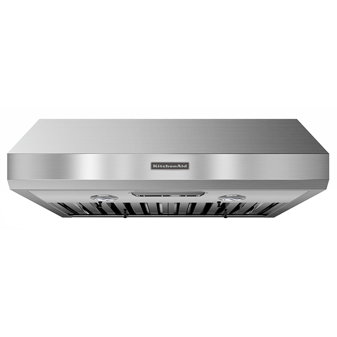 KitchenAid(R) Under-Cabinet Hood - 600 CFM - 30'' - Stainless