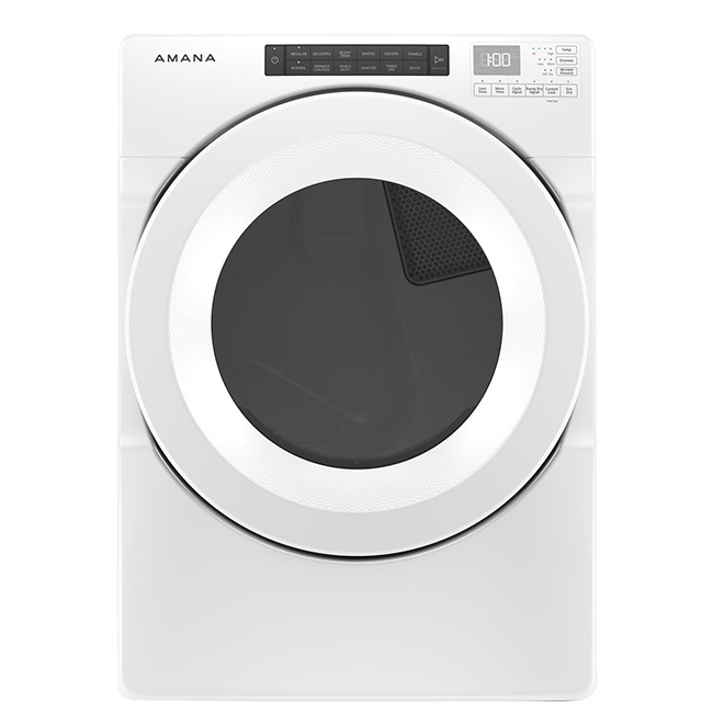 Gas Dryer with Sensor Drying - 7.4 cu. ft. - White