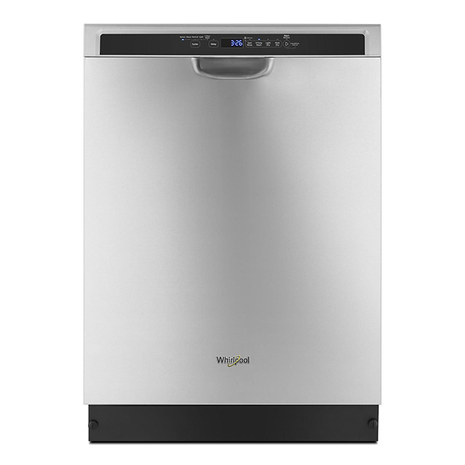 """Whirlpool Built-In Dishwasher - Third Rack - 24"""" - Stainless"""