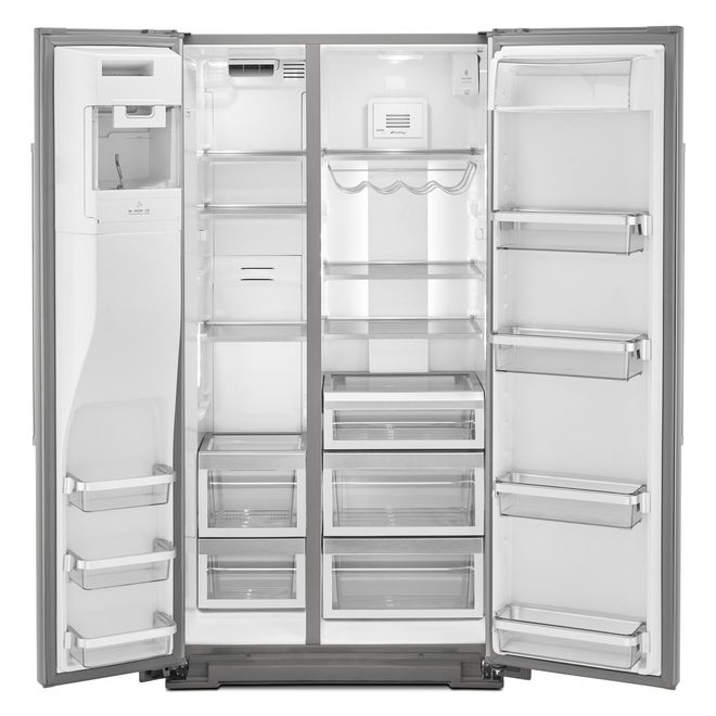 KitchenAid Side-by-Side Refrigerator - 19.8 cu. ft. - SS