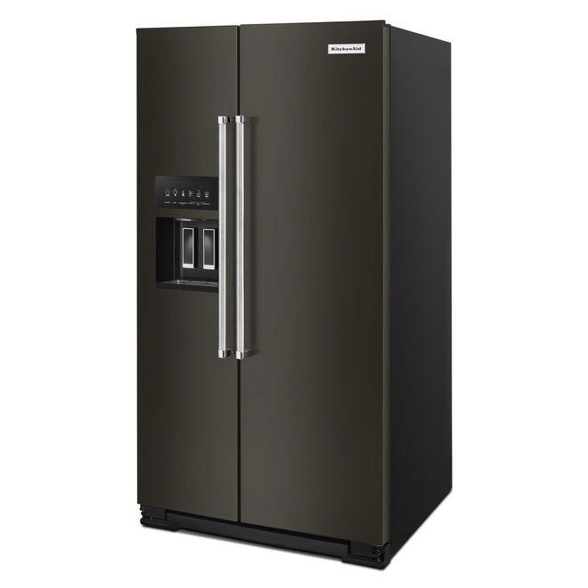 Réfrigérateur côte-à-côte, PrintShield, 24,8 pi³, inox noir