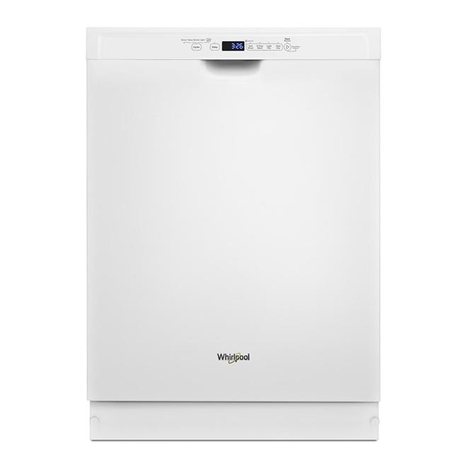"Built-In 3-Rack Dishwasher - 24"" - White"