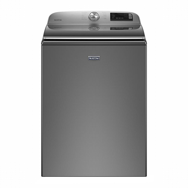 Maytag Top-Load Washer - 5.4 cu. ft. - Chrome Shadow