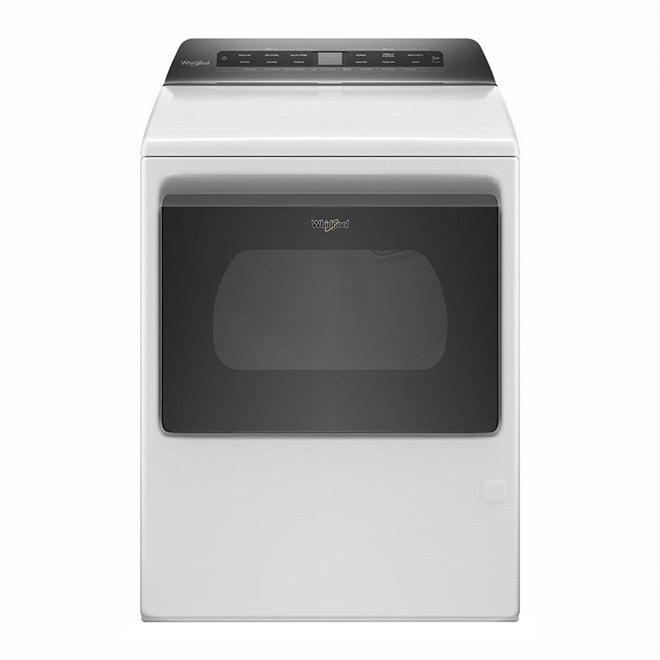 Whirlpool Gas Dryer - Wrinkle Shield - 7.4 cu.ft. - White